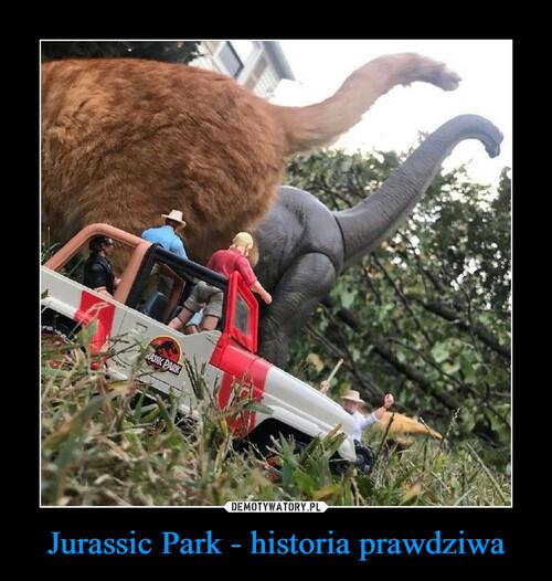 Jurassic Park - historia prawdziwa